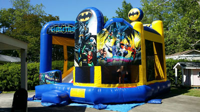 Batman 5 in 1 bounce house 30281
