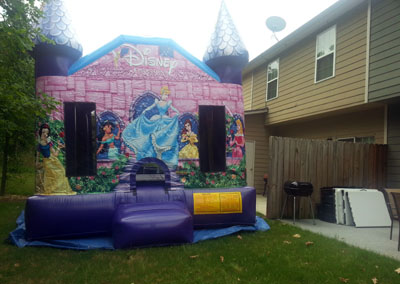 Princess Castle Bounce House 30281